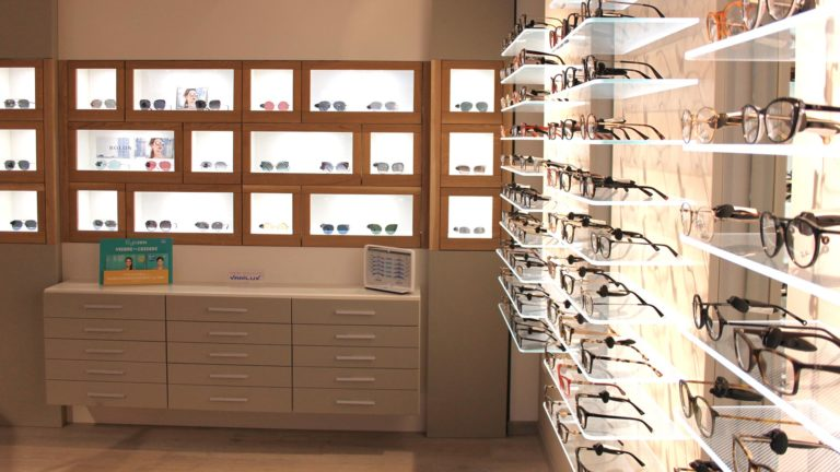 Interior Design for Eyecare Stores Modellando