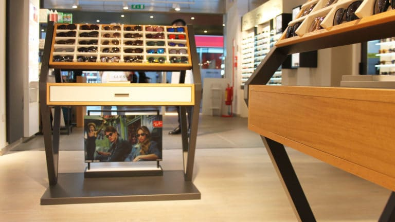 Spazio Ottica Eyecare Store Display Shop