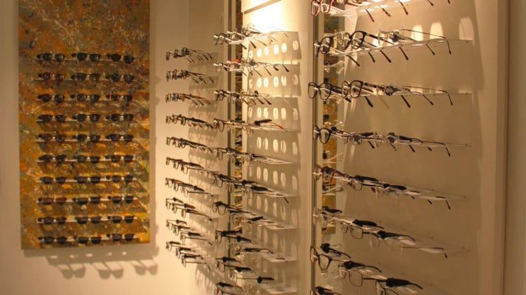 Spazio Ottica Eyecare Store Optical Displat