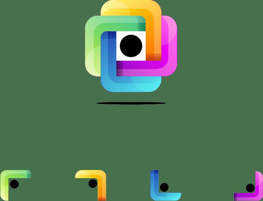 Anche il logo è modulare e di design Modellando