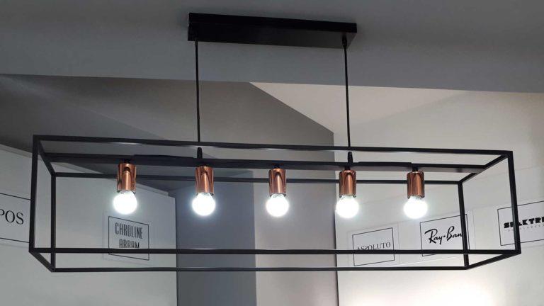 lampadario ottica impallara anzio
