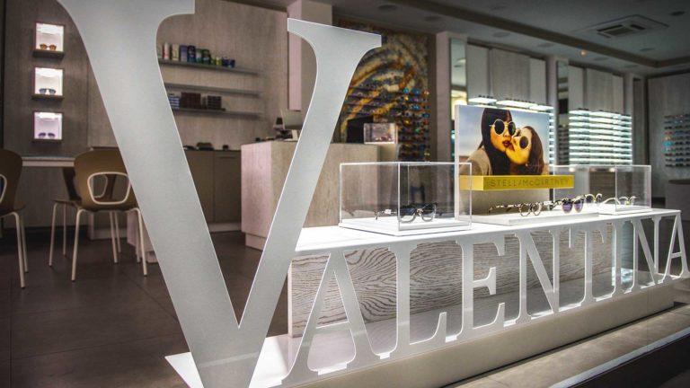 Vetrina espositiva Valentina Rossitto Ottica